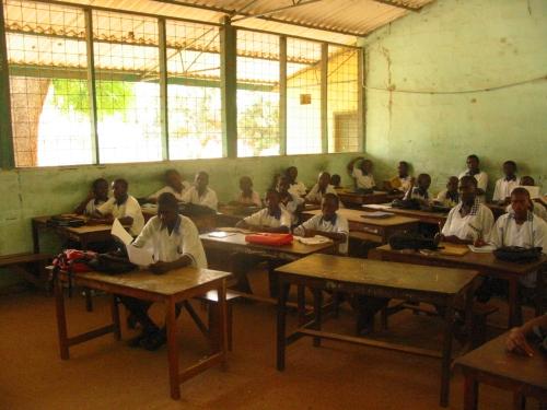 Gambia Classroom