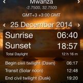 Christmas in Mwanza