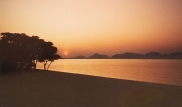 Sunset over Lake Malawi