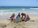 Sandcastle building time