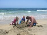 Sandcastle building time