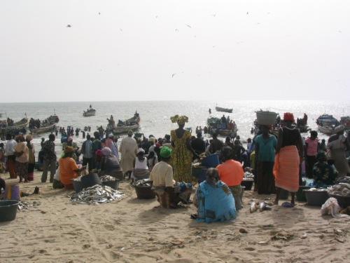 Fishing Village - Gambia