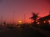 Sunset in Puerto Calero