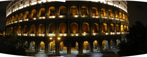 Colosseum Night 01