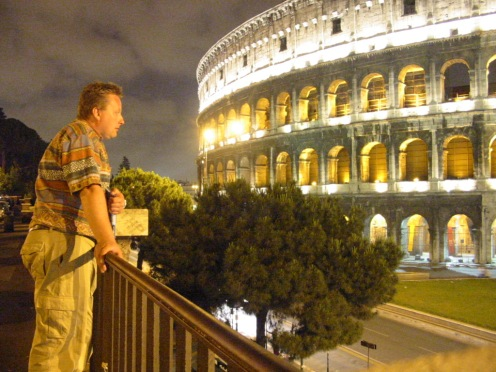 Overlooking Colosseum