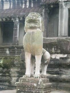 Angkor Wat Lion