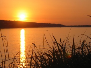 Sunset over Hayle