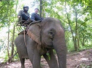 On Elephant Back