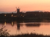 Sunset in Milton Keynes