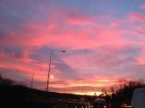 Sunrise in Milton Keynes