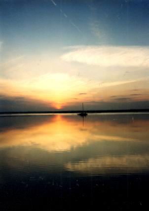 Sunset at Quiet Creek: North Sea