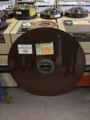 Hard Disc - about 1m diameter