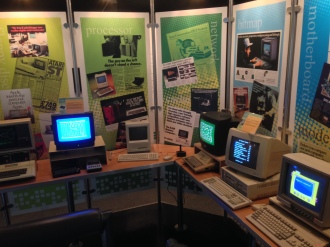 Various machines of the 1980s
