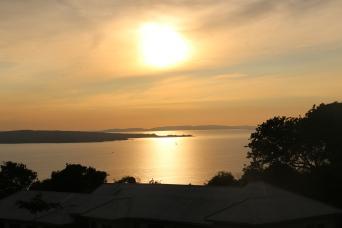 Sunset from Kirumba