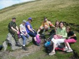 New Friends from across the Ocean - Mount Snowdon - Wales