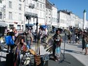 American Indian Busker - La Rochelle- France