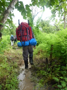 Trekking (Me from behind)