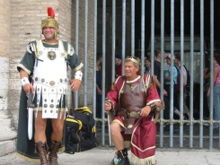 Romans at the Coloseum