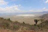 Crater from the top