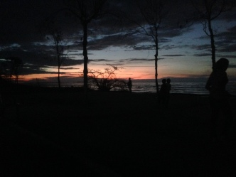 Sunset at Victoria