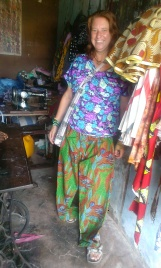 Trousers that Eunisi has made