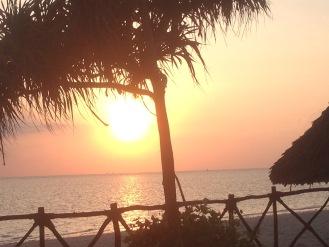 Sunrise over Zanzibar