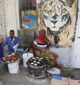 Vitumbua (African Donuts) - delicious