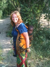 Carrying baby Jane, African-Style