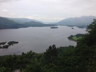 Surprise View over Derwentwater, Lake District
