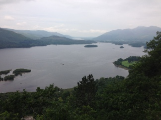 Surprise View over Derwentwater, Lake District