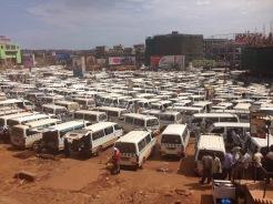 Taxi Park - Kampala