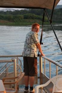 Matt on River Nile