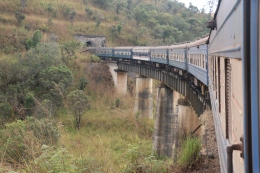 TAZARA Train through the Mountains