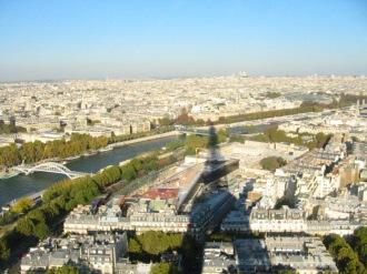 Paris from Eiffel Tower