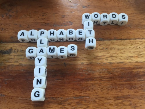 alphabet playing games with words