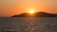 Sunset over Lake Victoria