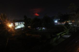 Gisenyi Overlooking Volcano