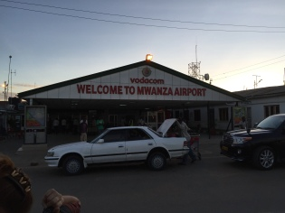 Day 1- Mwanza Airport